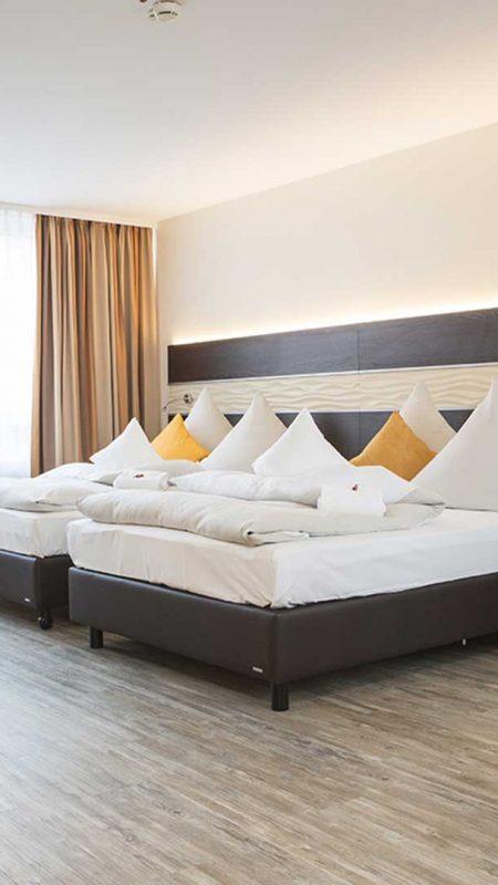 Doppelzimmer2015-Concordehotel-am-Leineschloss-Mehrbettzimmer2015